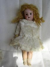 Petite poupée tête porcelaine DEP RECKNAGEL   21 cm