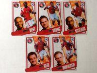 TOPPS PREMIER LEAGUE 2006/07 I-CARDS. FULL SET OF ALL 5 CHARLTON ATHLETIC