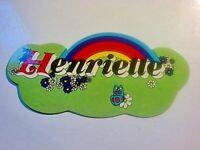 Adesivi pubblicitari da collezione anni 80 HENRIETTE CALZATURE 80's stickers