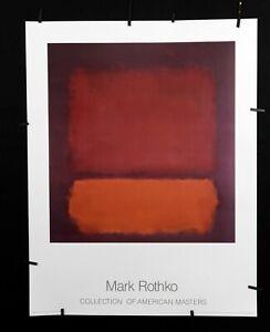 Mark Rothko - Untitled, 1962  - 1988 - Offset Poster