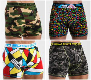 The Core Collection 4 Pack from Smuggling Duds Boxer Shorts, Boxer Briefs