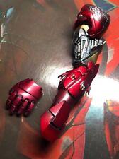 Hot Toys MMS132 Iron Man 2 Mark VI Figure 1/6 Left Arm Battle Damaged