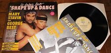 GEORGE BEST MARY STAVIN ~ SHAPE UP & DANCE VOLUME 9 ~ UK EXERCISE LP W/ BOOKLET