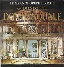 G. DONIZETTI # DON PASQUALE - Vol. 2 - GRANDI OPERE LIRICHE 60 - FABBRI ED.