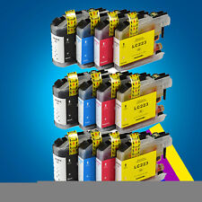 12 Ink Cartridge for Brother LC223 DCP-J4120DW MFC-J5625DW MFC-J5720DW