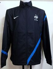 FRANCE 2012/13 NAVY WOVEN TRACK JACKET BY NIKE ADULTS SIZE LARGE BRAND NEW