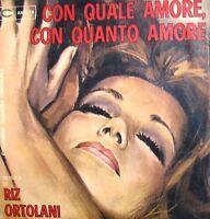 """SO MUCH LOVE ORTOLANI OST  CON QUALE AMORE CON QUANTO AMORE   7"""" ITALY 1970"""