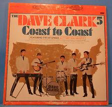 DAVE CLARK 5 FIVE COAST TO COAST  LP 1965 ORIGINAL PRESS STEREO COND! VG/VG+!!B