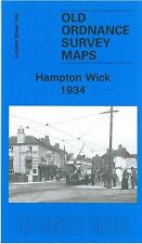 MAP OF HAMPTON WICK 1934