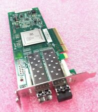 Dell Qlogic QLE2562L-DEL Dual-Port 8GB Fibre Channel Low Bracket RW9KF w/ SFPs