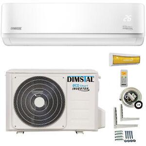 Klimaanlage A++ ECO Smart Inverter 12000btu/3,5 kW + 5m Kupferleitung & Kabel