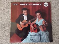 Duo Presti Lagoya Vivaldi Concerto Bach Prelude RCA 2300 001 France Guitar