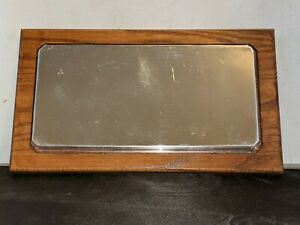 Wooden Mirror Base for 1:24 Display Case Reflective Base