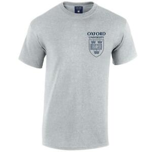 Oxford University Pocket Shield T-Shirt - Official Merchandise 100% Cotton