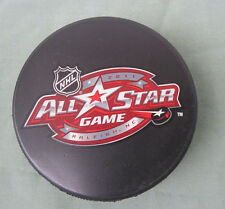 2011 NHL All Star Game Hockey Puck