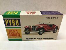 VINTAGE ORIGINAL 1960'S PYRO 1/32 SCALE ALFA ROMEO GRAN - TURISOMO MODEL KIT
