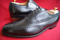Alden US Gr. 13 D (47) Black Medallion Wingtip Brogue NEU! + Schuhspanner