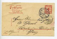 Germany Bavaria postal stationery postcard used 1904 Muenchen (M571)