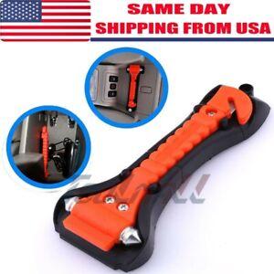 AUTO Car Safety Emergency Escape Hammer Tool Seatbelt Cutter Window Breaker