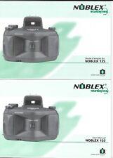 Noblex Original User Manual for 135-U/S/N/+ProSport incl. Panolux - NEW Manual