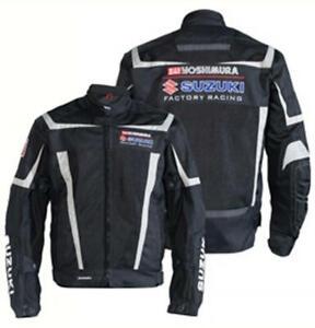 Suzuki Yoshimura Factory Racing Mesh Riding Jacket Black XXX-Large XXXL 3X