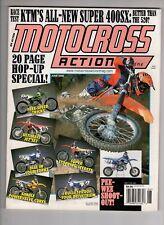 Motocross Action Magazine June 2000 Ktm All New Super 400Sx