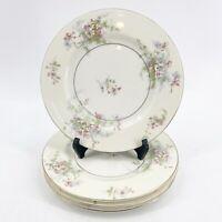 "Theodore Haviland New York Apple Blossom Salad Dessert Plates 7.5"" Set of 4"