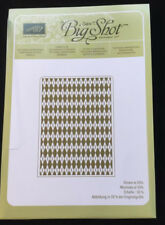 Stampin' Up ARGYLE Textured Impressions Embossing Folder