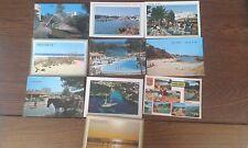 lote de 10 postales de las Islas Baleares años 80-90