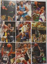 1994-95 NBA Fleer Ultra: Series 1 complete base card set (200 cards)