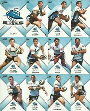 2011 NRL select STRIKE CRONULLA SHARKS COMMON TEAM SET 12 CARDS