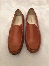 Rockport Womens Loafers Size 8.5 Brown Leather Comfort Slip On Mocassin Style