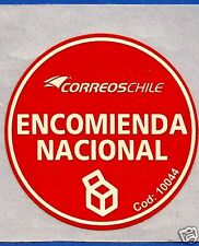 CHILE, OFFICIAL CORREOSCHILE UNUSED POSTAL STICKER # 10