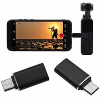 Type-C to Micro-USB Converter for DJI OSMO Pocket Handheld Gimbal Accessories