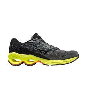 Mizuno Wave Creation 20 Men's Size 12 Black Grey Yellow Orange 411060-9S97