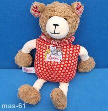 Sigikid abrirán Teddy sacudidas peluche oso Bear rojo sonajero 24 cm