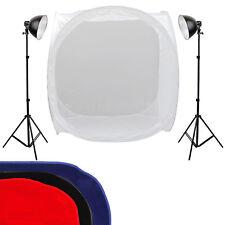 2 New Photo Video Studio Continuous Sparkler Dome Light Kit 120CM Shooting Tent