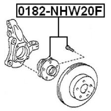 TOYOTA PRIUS NHW20 2003-2009 FRONT WHEEL HUB OEM 43510-47012 Febest# 0182-NHW20F