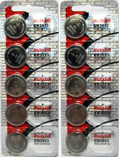 Lot of 10 Genuine Maxell CR2032 CR 2032 3V LITHIUM BATTERY Made in Japan BR2032