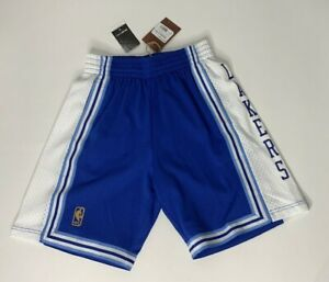 Mitchell & Ness LA Lakers HWC 1996-97 Blue Throwback Swingman Shorts Mens S NWT