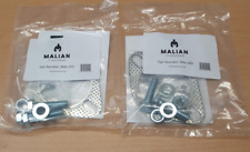 """Decat Exhaust pipe Fitting Kit for Toyota MR2 SW20 - 2.5"""" ID gaskets"""