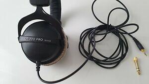 Beyerdynamic Dt 770 Pro 80 Ohm Studio Kopfhörer + kostenloser Versand