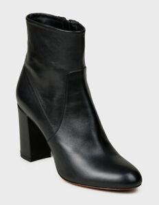 RRP £795 Santoni Ankle Boots Real Leather Size 7 EUR 40 Black ** LAST PAIR **