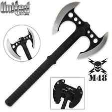 M48 Double Bladed Tactical Tomahawk & Sheath by United Cutlery UC3056 NEW