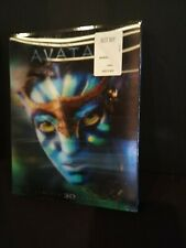 New/Sealed Avatar Blu-ray 3D, Blu-ray, DVD - James Cameron, Holographic Slipcase