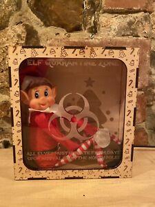 Personalised Elf On The Shelf Quarantine Isolation Box Christmas Decoration
