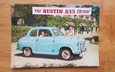 Austin A35 Saloon 1957 No 113 Vintage Ad Gallery  Postcard VA17PC **MINT**