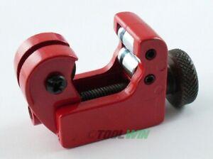 """Mini Tubing Cutter 1/8"""" to 5/8 inch OD Rigid Cut Copper Pipe Brake Line"""