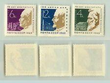 Russia Ussr, 1963 Sc 2803-2805 Mnh. f4985
