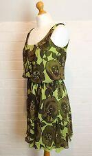 MOSCHINO 100% Silk Dress - Size IT 42 - UK 10